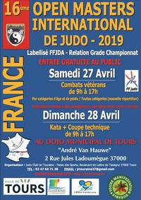 16e Open  Master International de Tours le 27 avril 2019