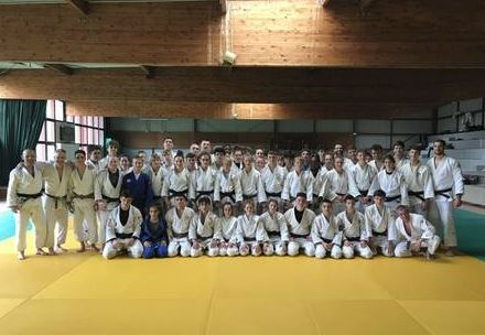Stage Technique Mini-Poussins et Poussins au Dojo de Saint-Brice-Courcelles le 23 mars 2019